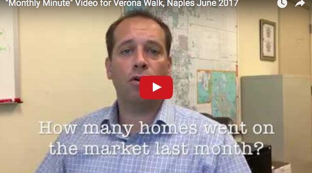 June's Monthly Minute Update for Verona Walk Naples