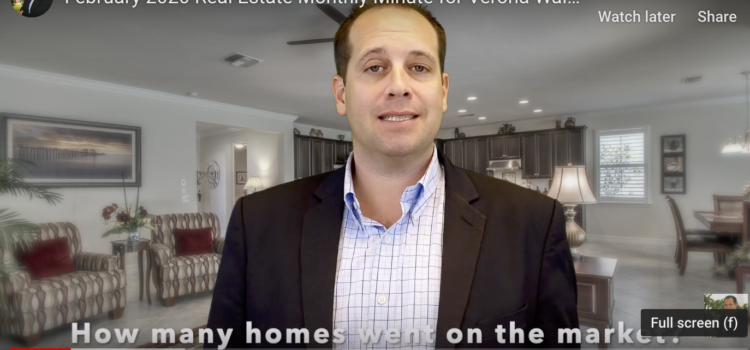 Verona Walk Real Estate Report February 2020